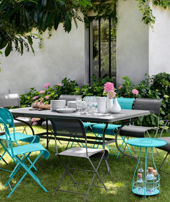 Awesome Salon De Jardin Metal Fermob Contemporary - House ...